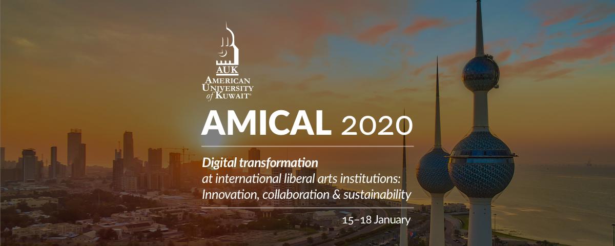 AMICAL 2020 · American University of Kuwait · 15–18 January