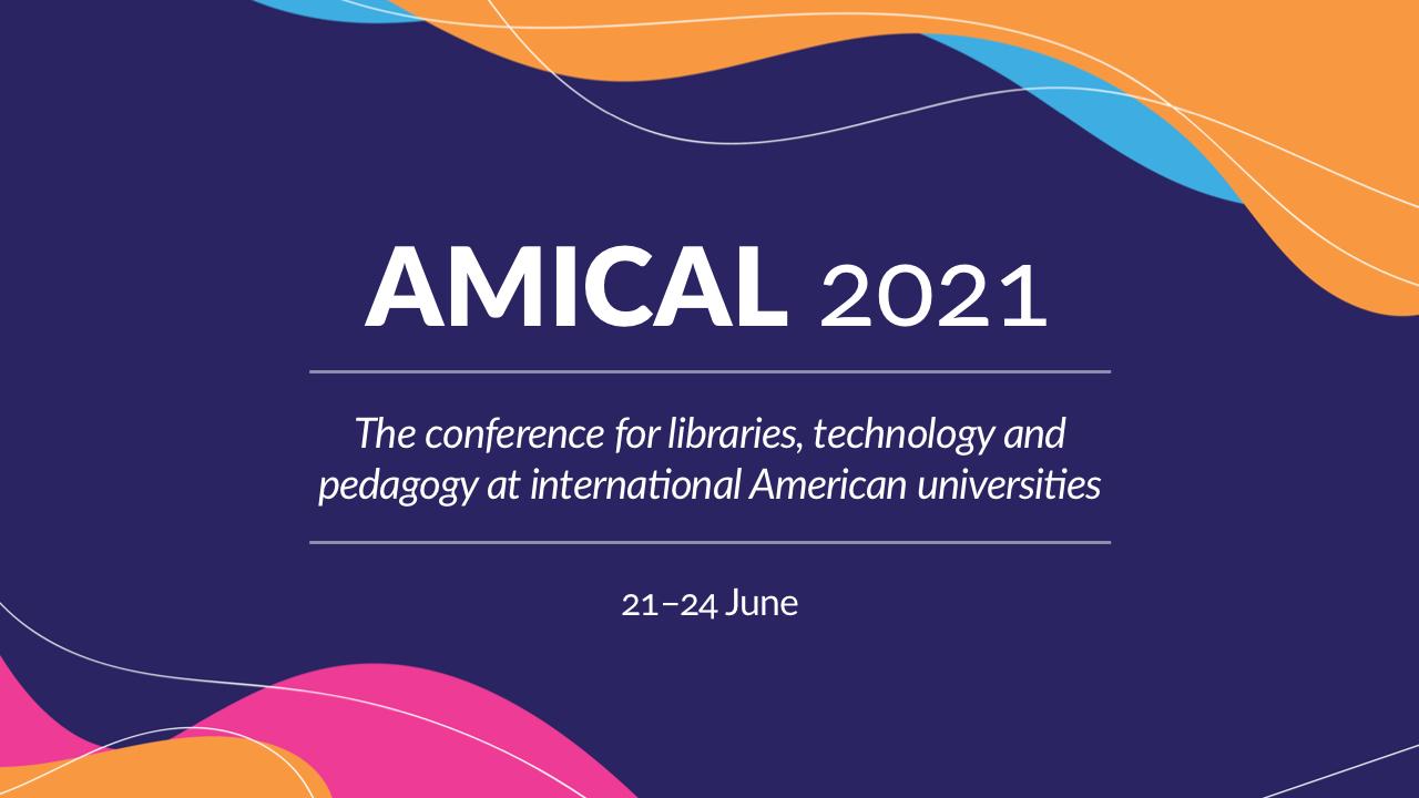 AMICAL 2021 · 21–24 June