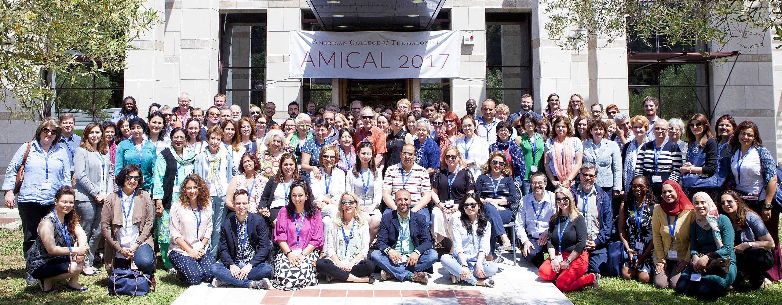 Group photo from AMICAL 2017.